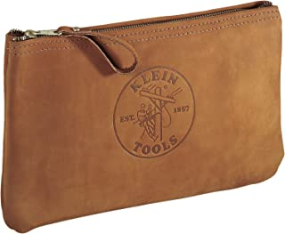 Top-Grain Leather Zipper Bag Klein Tools 5139L