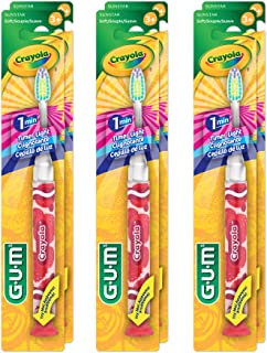 Best gum crayola timer light toothbrush Reviews