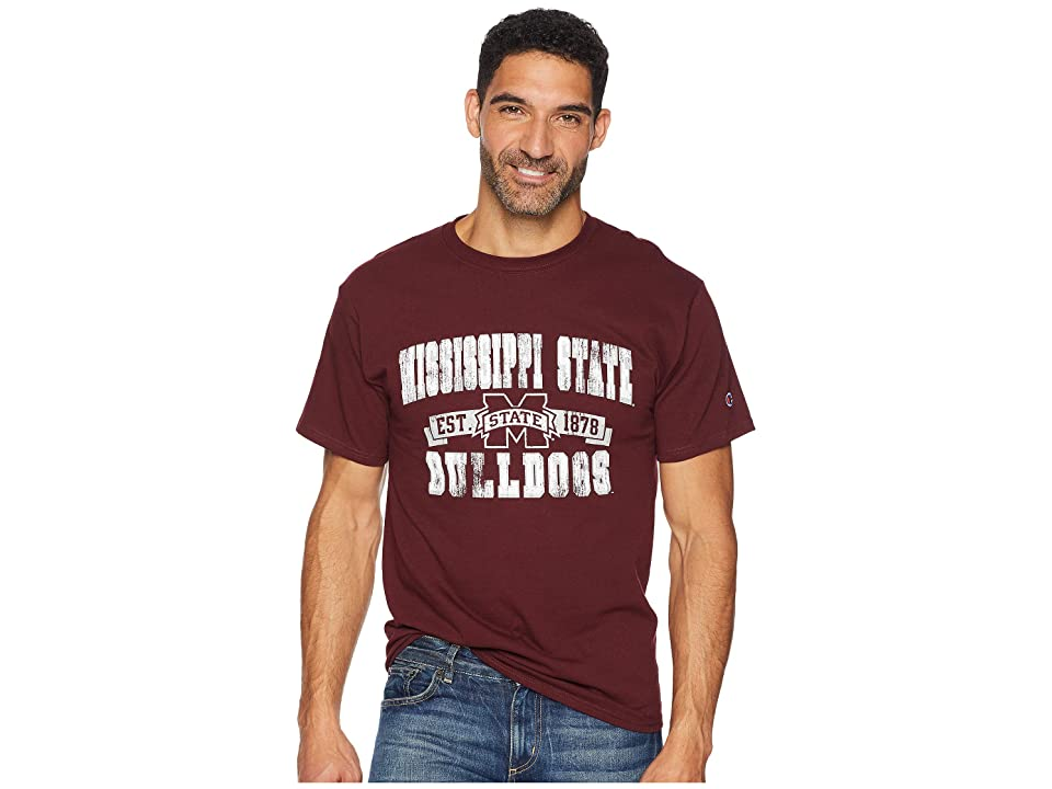 Champion College Mississippi State Bulldogs Jersey Tee (Maroon) Boy