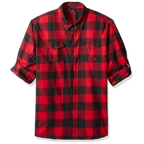 Men S Flannel Shirts Amazon Com