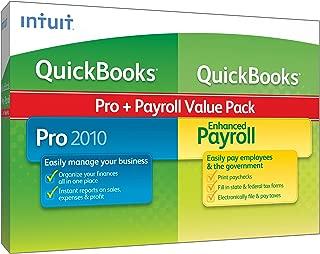 QuickBooks Pro w/Enhanced Payroll 1-3 Employees 2010 [OLD VERSION]