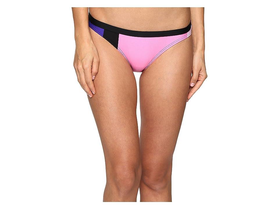 Kate Spade New York Limelight Classic Bikini Bottom (Black Multi) Women