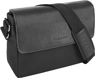 """Bugatti Horizon Messenger Bag für Damen und Herren mit 13"""" Laptopfach, Unisex Umhängetasche Kuriertasche Schultertasche, S..."""