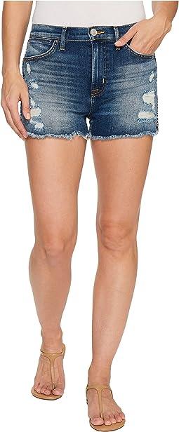 Soko High Rise Cut Off Shorts in Legit
