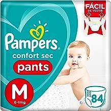Fralda Pampers Confort Sec Pants Super, M, 84 Unidades