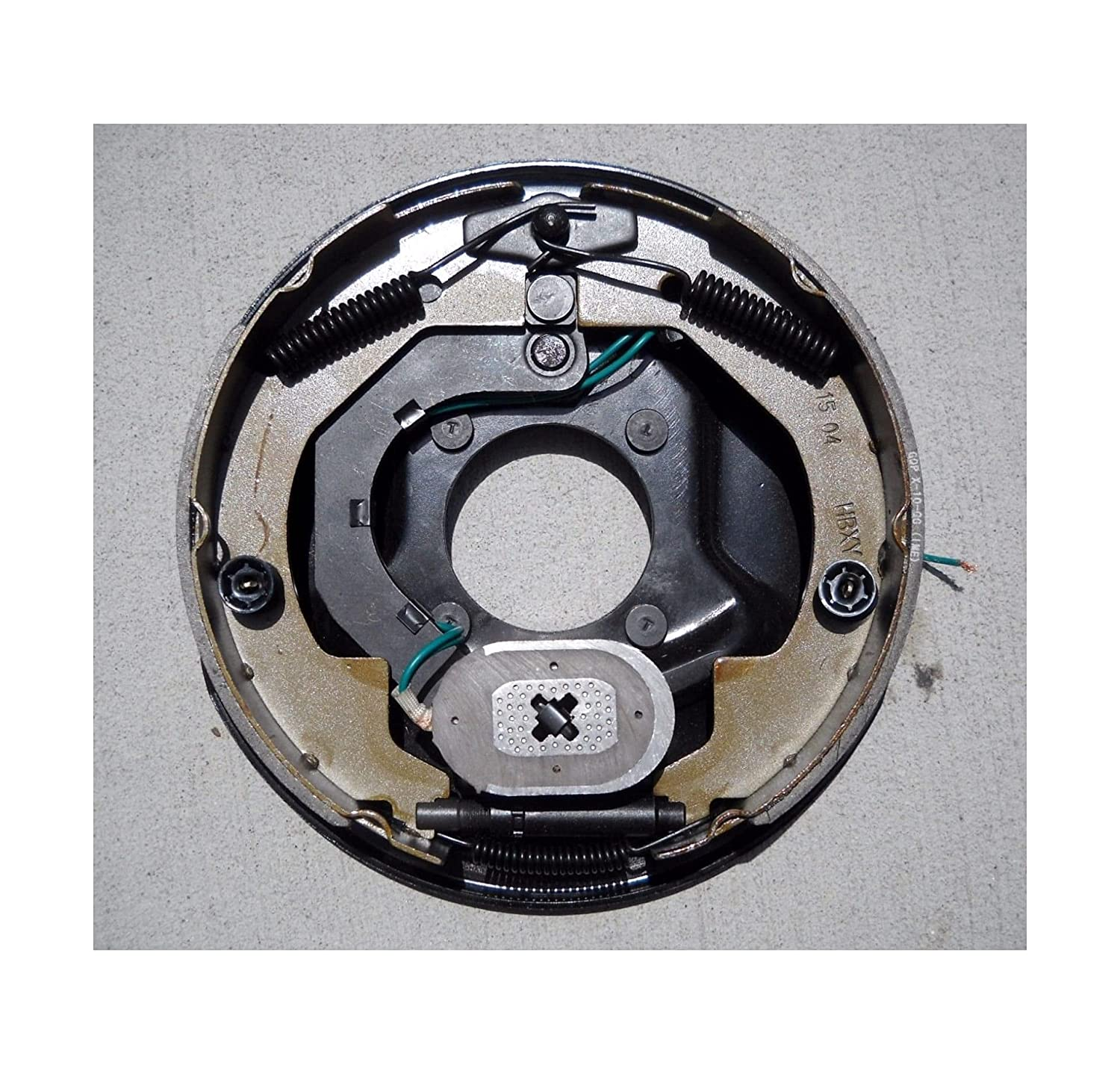 ONE free shipping 3500# Axllee Right Side plate Trailer supreme Brake Electric Backing
