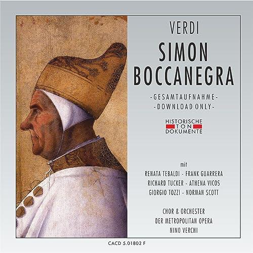 Simon Boccanegra, dritter Akt: Piango, perche mi parla de ...