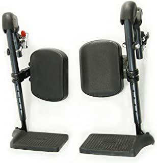 Karman Healthcare Elevating Leg Rest for S-100 Series Wheelchair, 18