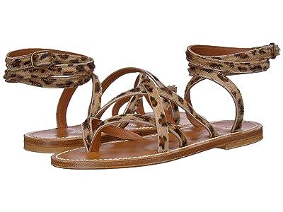 K.Jacques Zenobie Velours Sandal (Horsey Leopard) Women