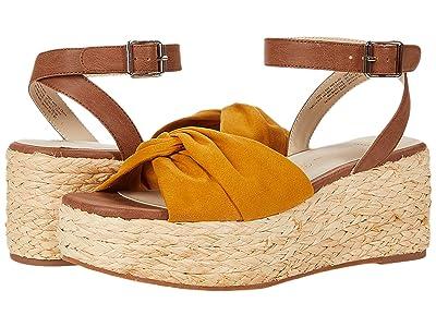 Seychelles BC Footwear by Seychelles Winning (Mustard V-Suede) Women
