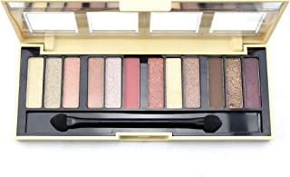 CITY COLOR Barely Exposed Eye Shadow Palette 2 Day/Night 12 Colors (並行輸入品)