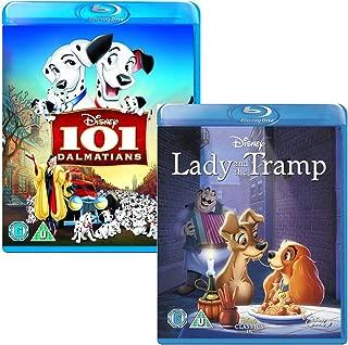 101 Dalmatians - Lady and the Tramp - Walt Disney 2 Movie Bundling Blu-ray