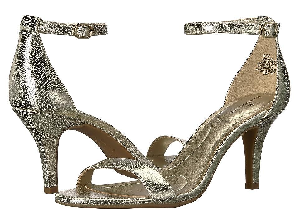 Bandolino Madia (Platino Lizard Metallic Lizard) High Heels
