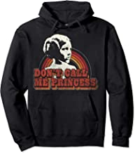 Star Wars Princess Leia Don't Call Me Princess Retro Lines Pullover Hoodie