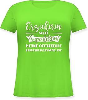 Funshirt Beruf Geschenk Jubiläum ERZIEHERIN WEIL SUPERHELDIN.. Tank Top