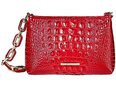 Brahmin Melbourne Mod Lorelei Shoulder Bag (Ember) Handbags
