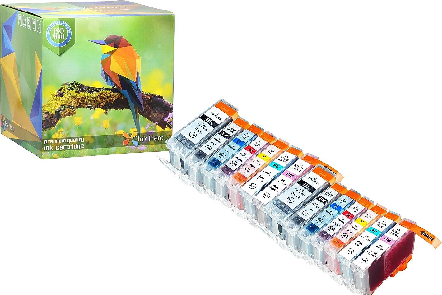 Ink Hero 14 Pack Ink Cartridges for BCI-3 BCI-6 BJC 8200 Pixma iP6000D S800 S820 S820D S830d S900 S9000 i900D i9100 i950 i960 printer inks for inkjet printers