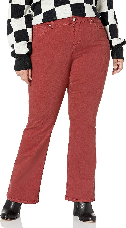 SLINK Women's Plus Size Casual Chic Denim