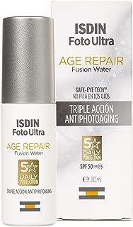 ISDIN FotoUltra Age repair FW SPF50 | Protector solar facial de uso diario | Triple acción antienvejecimiento | 50ml