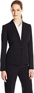Women's Stretch Crepe One Button Jacket