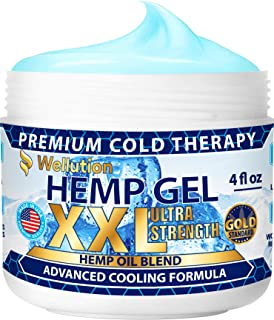Hemp Gel 2,500,000 Ultra Strength - for Muscle, Back, Nerve, Knee, Joint Pain Relief - All-Natural Blend of Hemp Oil, Arni...