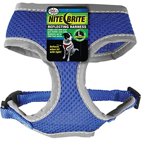 Four paws Nite Brite Safety Comfort Dog Harness