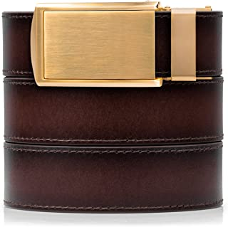 SlideBelts Full Grain Leather Belt - Custom Fit