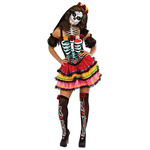 a486fcfcdf3 Day of the Dead Costumes for Women: Amazon.co.uk