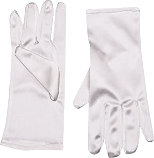 LEG AVENUE Dames polslengte satijnen handschoen voor speciale gelegenheden