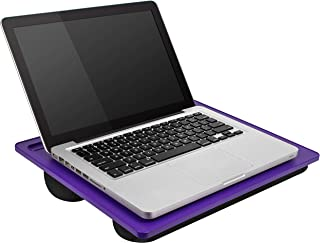 LapGear Student Lap Desk - Purple - Fits up to 15.6 Inch laptops - Style No. 45013