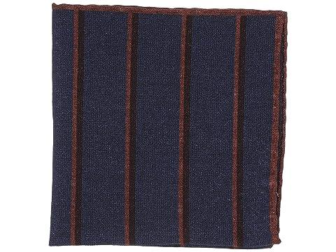 eleventy Stripe Print Pocket Square