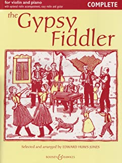 The Gypsy Fiddler - Music from Hungary and Romania - Fiddler Collection - violin (2 violins) and piano, guitar ad lib.