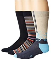 HUE - Bike Socks with Half Cushion 3-Pack