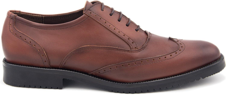 Castellanisimos Derby Schöne Lederschuhe Leder Farbe für Herren    Hohe Qualität und günstig