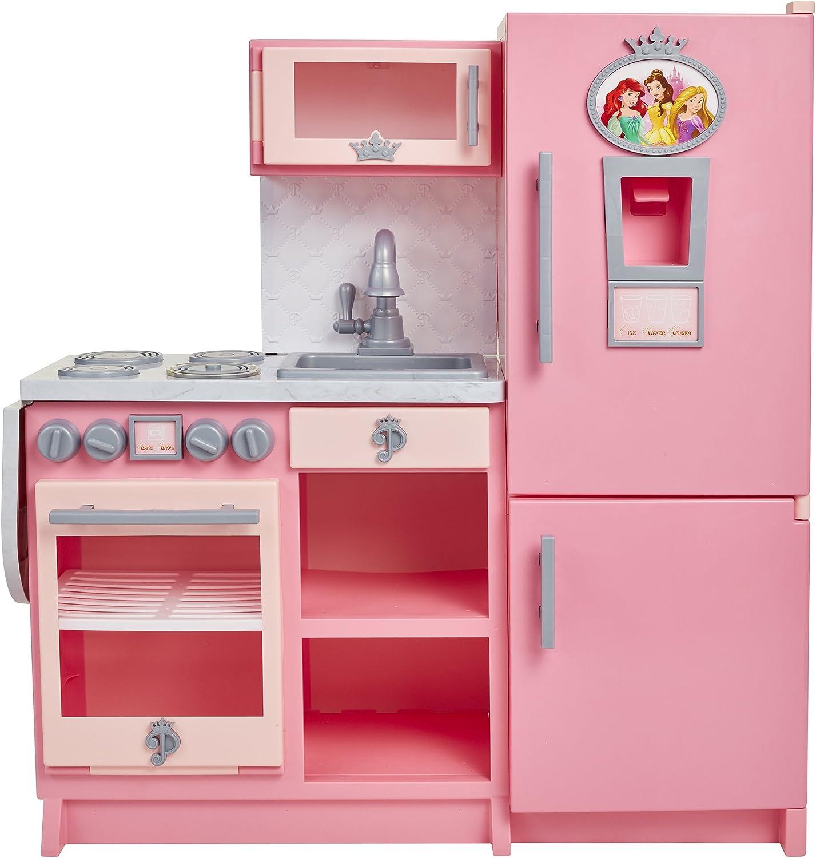 Amazon Com Disney Princess Style Collection Gourmet Kitchen Girls Kitchen Appliance Toys Games