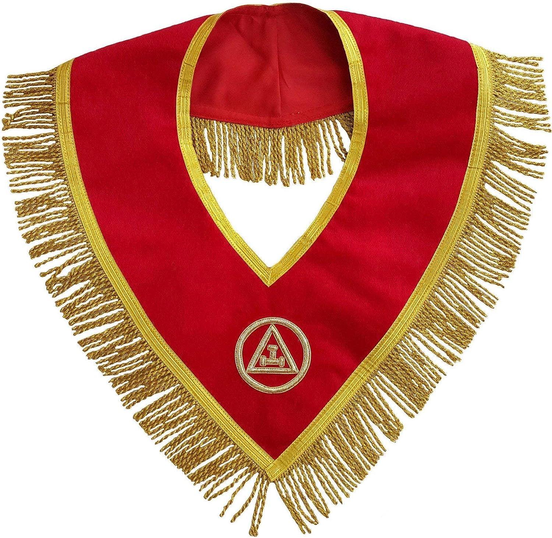 Bricks Masons Masonic Royal Super sale Arch Embroi Mason Hand Ranking TOP4 Member Collar