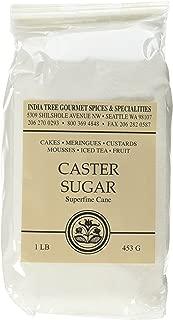 India Tree Superfine Caster Baking Sugar, 1 lb. bag
