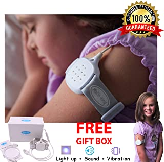 Bed wetting Alarms to Guarantee Dry deep Night Sleep and Stop bedwetting - This Potty Training Wireless Sensor Alarm is Best for Baby, Kids, Teens, Adult, Boys and Girls - Train bedwetters Monitor