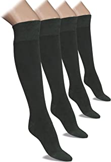 Hugh Ugoli Lightweight Knee High Dress Socks Bamboo Comfort