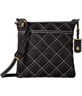 Tommy Hilfiger Julia - Large North/South Crossbody - Triple Quilt Nylon