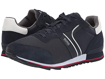 BOSS Hugo Boss Parkour Sneaker by BOSS (Dark Blue) Men