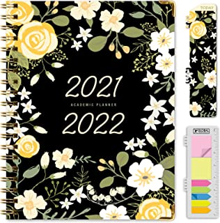 "$21 » HARDCOVER Academic Year 2021-2022 Planner: (June 2021 Through July 2022) 8.5""x11"" Daily Weekly Monthly Planner Yearly Agen..."