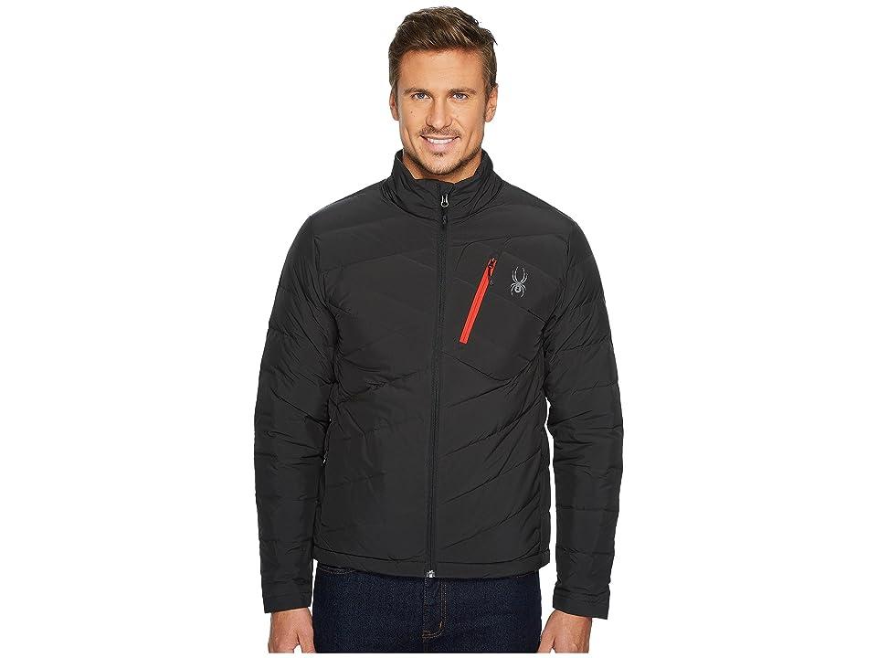 Spyder Syrround Full Zip Down Jacket (Black) Men
