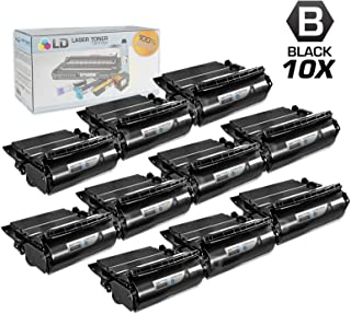 LD Compatible Lexmark 64015HA Set of 10 Black Laser Toner Cartridges for use in The T644tn, T642dtn, T640, T642tn, T640dtn, T644dn, T640tn, T644n, T642dn, T642n, T640dn, T644, T640n, T644dtn, T642