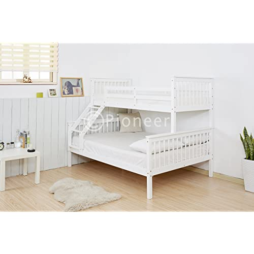 White Triple Bunk Bed Amazon Co Uk