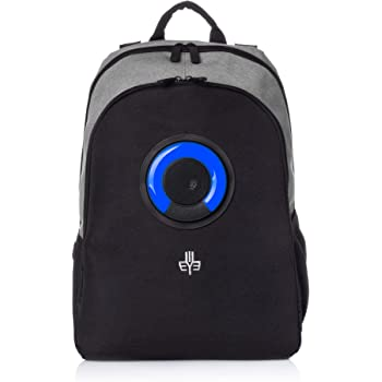 Blue, 2020 Premium Edition Works with iPhone /& Android Rechargeable Bluetooth Speaker Backpack with 20-Watt Speakers /& Subwoofer for Parties//Festivals//Beach//School