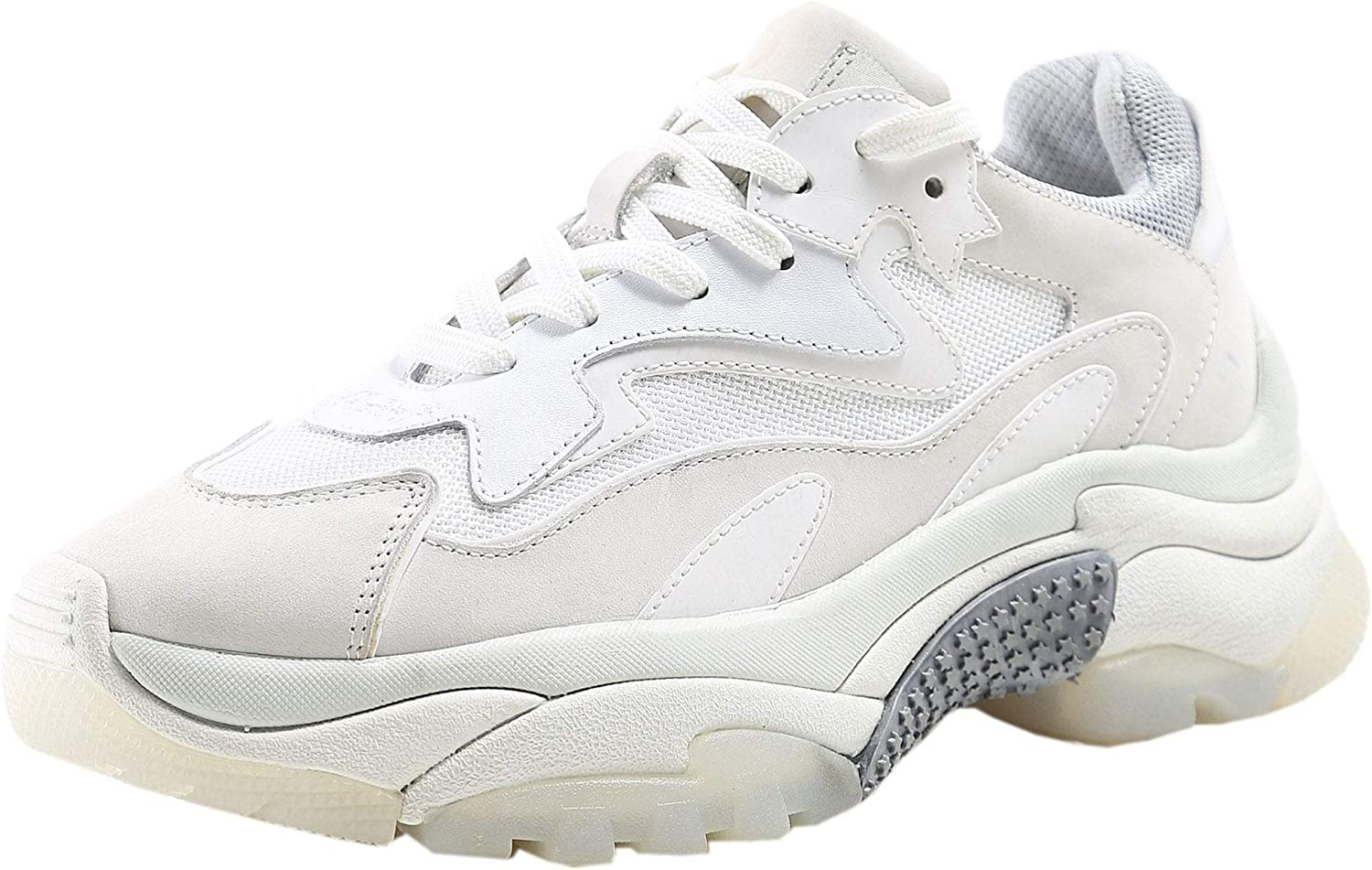 Ash Women's Leather Addict Bis Trainers White