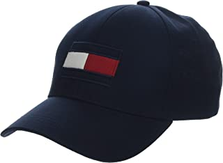 TOMMY HILFIGER Men's Cotton Flag Embroidery Baseball Cap
