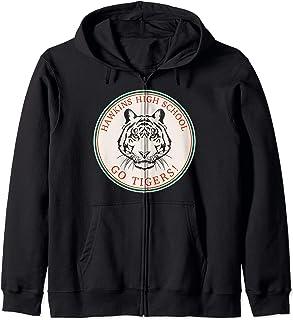 Netflix Stranger Things Hawkins High School Go Tigers Logo Sweat à Capuche