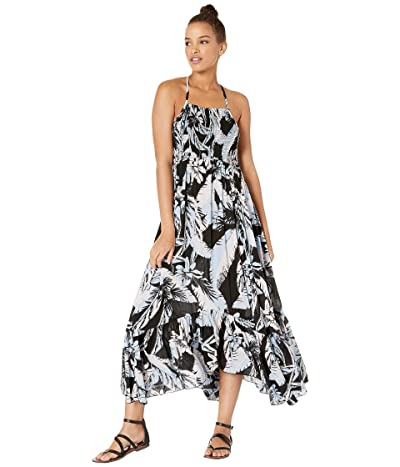 Free People Heat Wave Printed Maxi (Black) Women